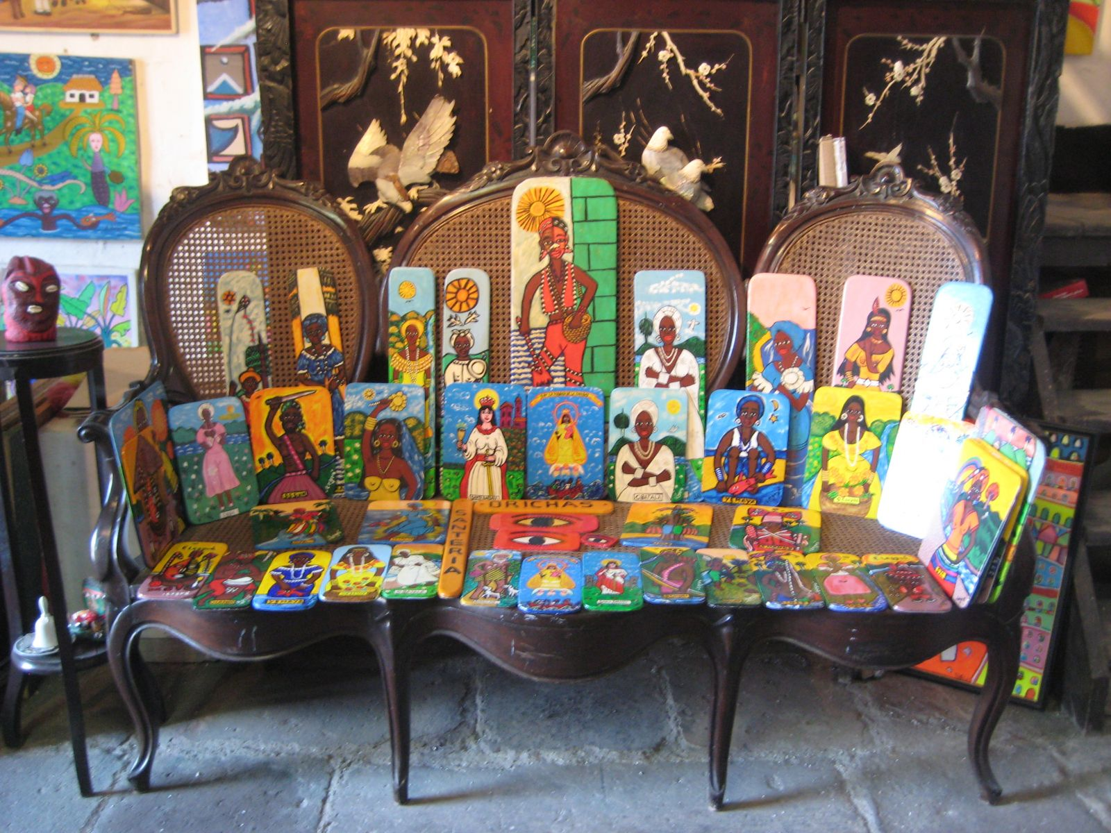 En la Habana el arte popular