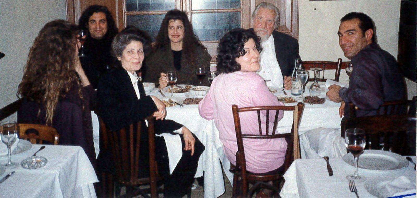 Mi muy querida familia Häsler y Neus